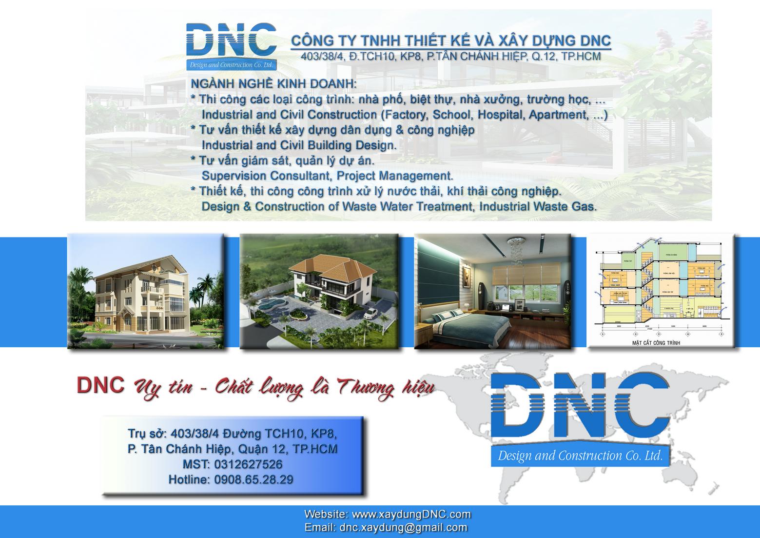 Xây Dựng Cải Tạo Nhà Ở Nhà Kho DNC