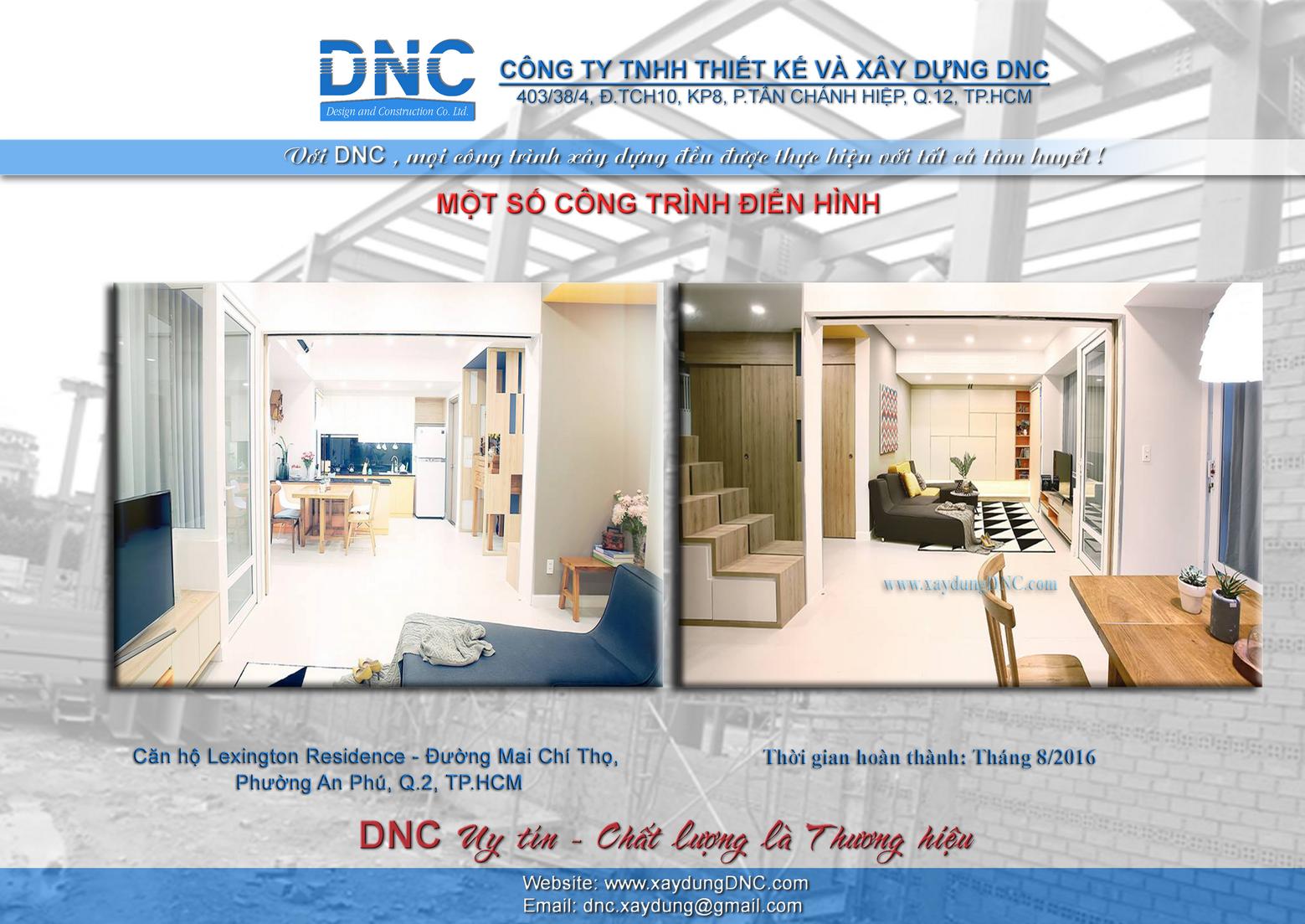 Giới thiệu về công ty TNHH Thiết Kế Và Xây DựngDNC