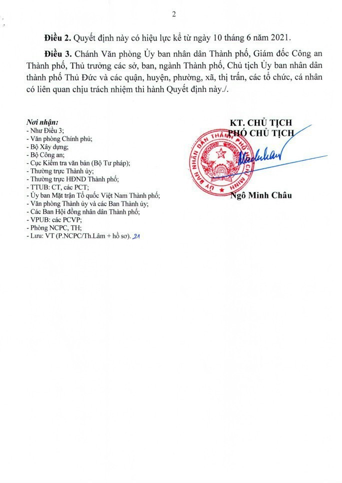 Quyết định số 16/2021/QĐ-UBND ngày 31/05/2021